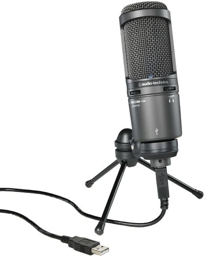 Audio Technica AT2020USB +